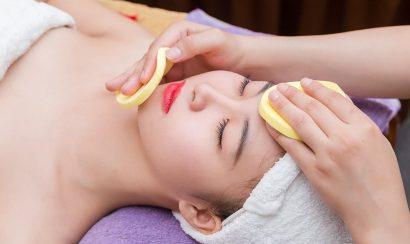 Làm sạch vùng da